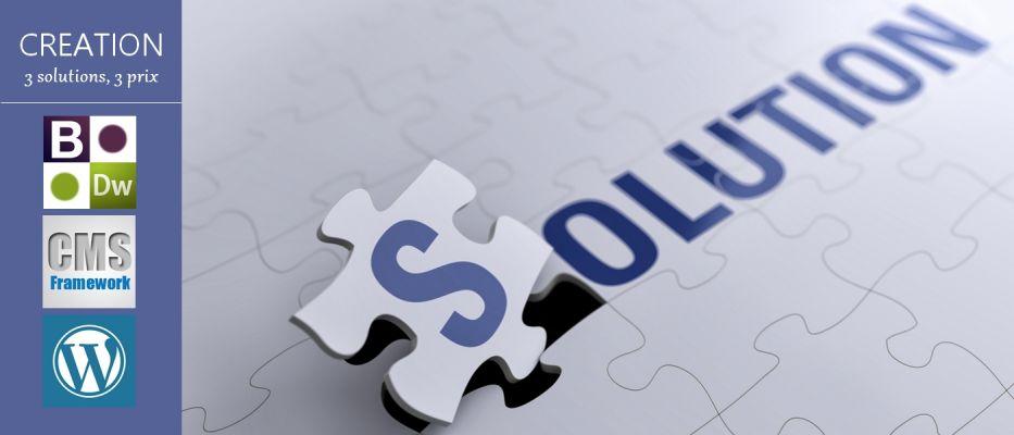 Solutions et prix